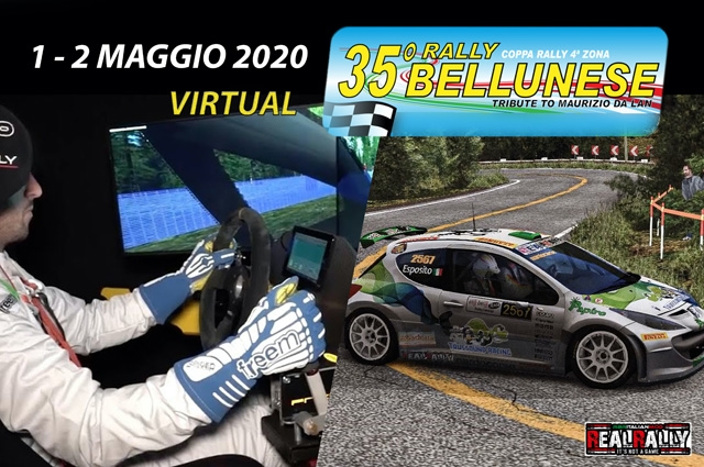 35°Rally Bellunese si fa virtual