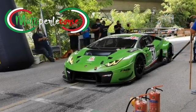 Lucio Peruggini fa sua la 58^Cronoscalata Svolte di Popoli tra le vetture GT