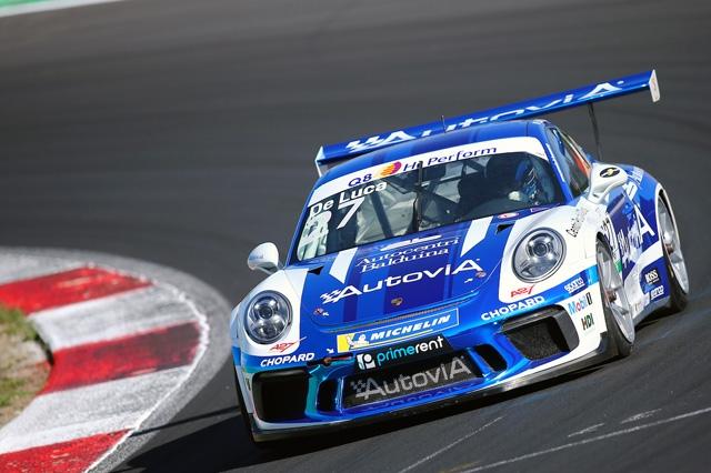 AB Racing dà spettacolo a Vallelunga nella Carrera Cup Italia