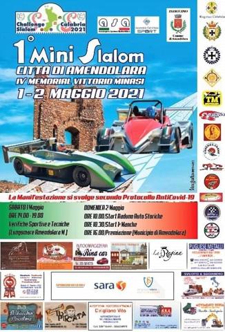 Record di iscritti al Minislalom di Amendolara – valido per lo Challenge Slalom Calabria 2021