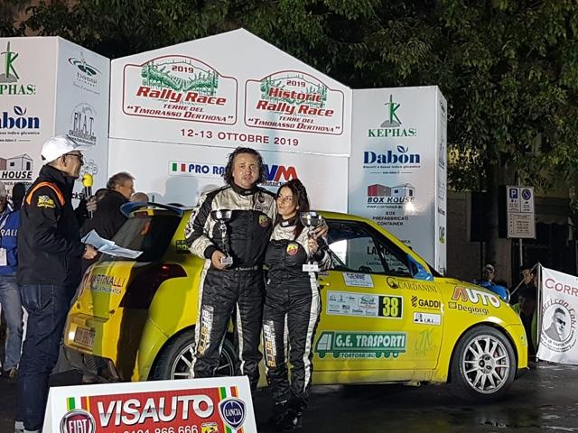 Rally Race archiviato. Salviotti vince la classe.