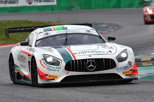 "Rovera ""punta"" Misano nell'Italiano GT Endurance su Mercedes-AMG"