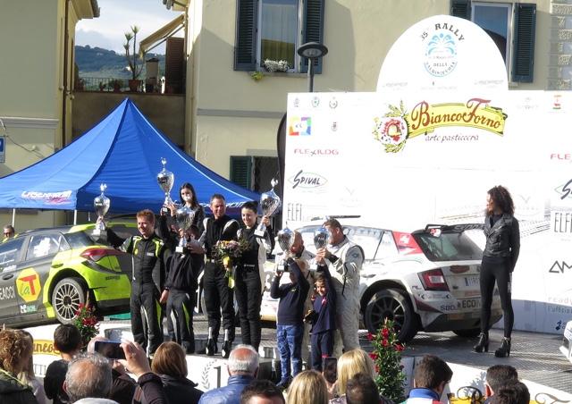 Al 35° Rally della Valdinievole vittoria per Pierotti-Milli Skoda Fabia R5