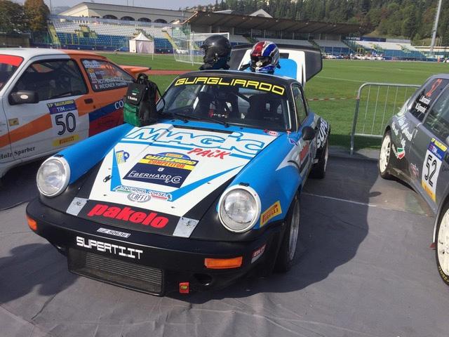 La Squadra Corse Angelo Caffi sfiora la vittoria al Rallylegend con Superti-Brunetti