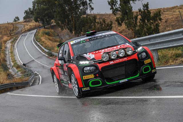 X Race Sport nel tricolore rally: Rusce e Farnocchia Targa Florio