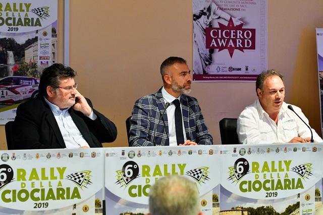 PRESENTATO IL RALLY DELLA CIOCIARIA