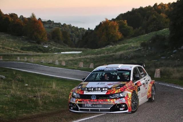 Andrea Crugnola in coppia con Pietro Ometto si è aggiudicato la 37^ edizione del Rally 2 Valli