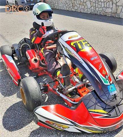 Campionato Regionale Campania Karting: primo posto per Ferraiuolo Luigi sulla pista Iscaro