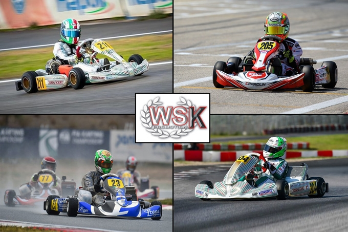 Poker di siciliani in WSK ad Adria