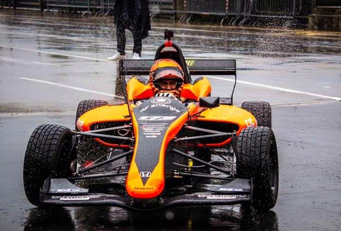Atzori Francesco Vice Campione Fx Italian series ( Fx3)