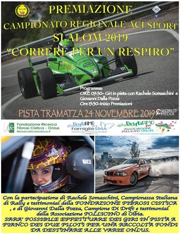 Premiazioni CAMPIONATO REGIONALE ACI SPORT SARDEGNA SLALOM 2019