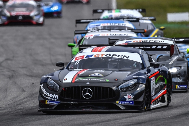 Rovera riprende la via dell'International GT Open al Red Bull Ring