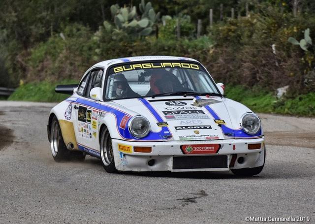 Lombardo - Merendino su Porsche firmano il 3° Rally Historic Tindari
