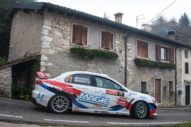 Superti-Brunetti alla prova di un durissimo Rally Due Valli