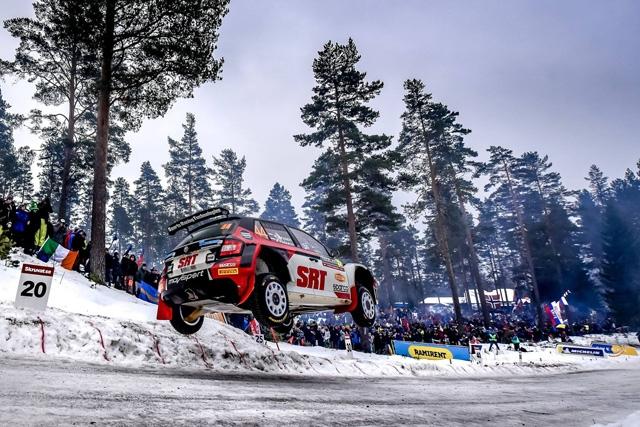 Primi punti iridati per Movisport: Gryazin a segno con il quinto posto di WRC-2