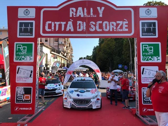 MM MOTORSPORT VINCE AL RALLY CITTA' DI SCORZE' CON ALESSANDRO BATTAGLIN