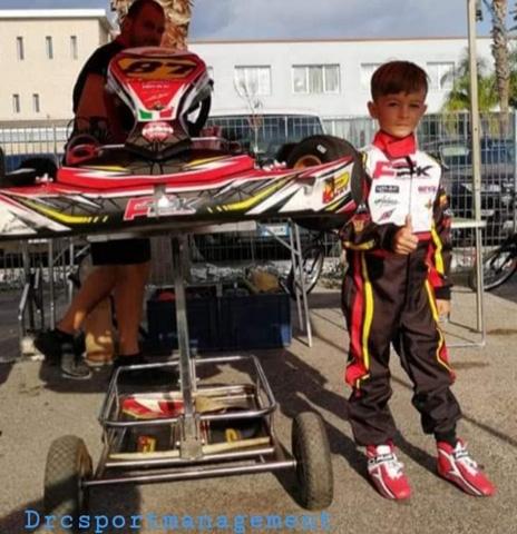 DRC Sport Management accoglie il Baby Driver Giuseppe Noviello