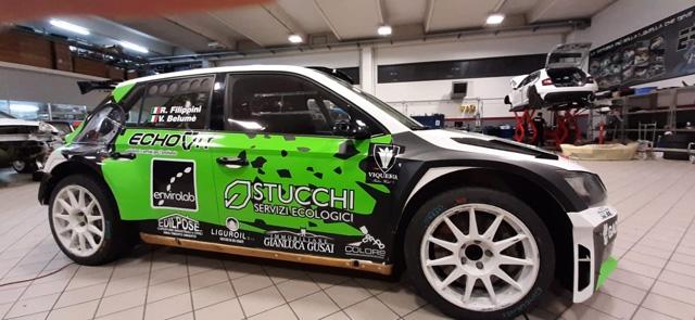 Belumè – Filippini al Monza Rally Show