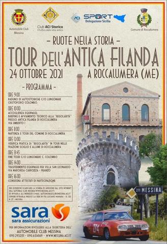 Ruote nella Storia torna in Sicilia. Il 24 ottobre appuntamento nel Messinese