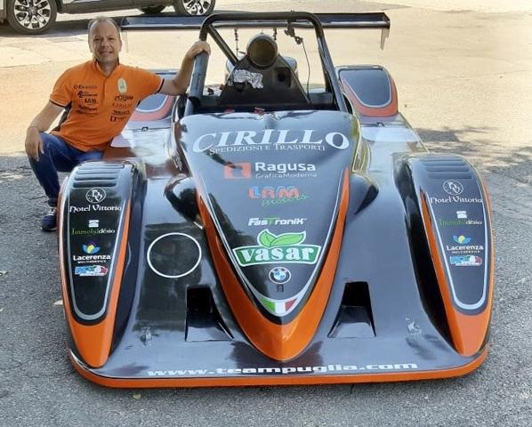 Achille Lombardi difenderà i colori del Team Puglia anche nel 2020 alla guida di una aggiornata Osella PA21 JrB  1000 Bmw by LRM motors