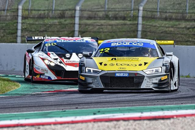 Mugello, Ferrari-Agostini (Audi R8 LMS) si aggiudicano il titolo assoluto del Campionato Italiano Gran Turismo Sprint