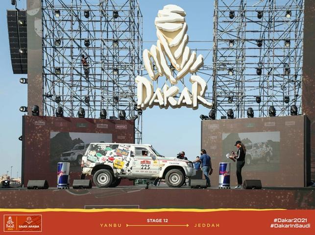 La Squadra Corse Angelo Caffi sfiora il podio al debutto nella Dakar Classic 2021