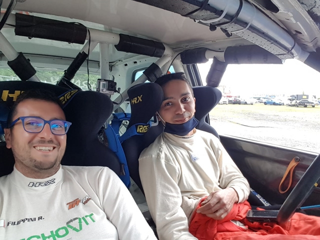 EFFERREMOTORSPORT – Rally Lana: Castagna in top 30, buon esordio di Goldoni