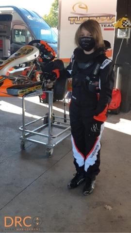 Parte da Arce la stagione  Karting del Drcsportmanagement