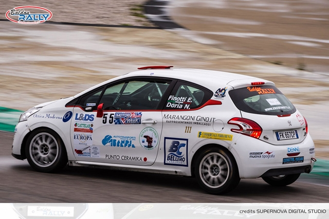 BALDON RALLY BRILLA ALL'ADRIA MOTOR WEEK