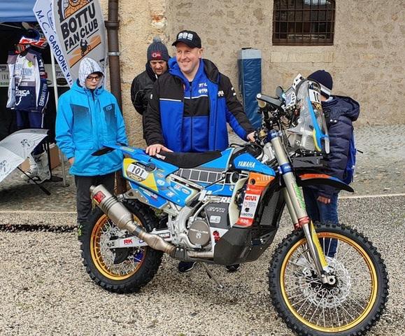 Africa Eco Race per Botturi con Squadra Corse Angelo Caffi