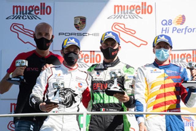 Pole e vittoria per AB Racing al Mugello nella Carrera Cup Italia