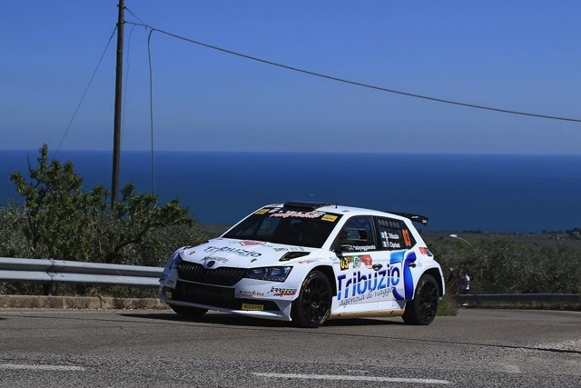 ERREFFE RALLY TEAM-BARDAHL PRESENTE AL RALLY DEL RUBINETTO