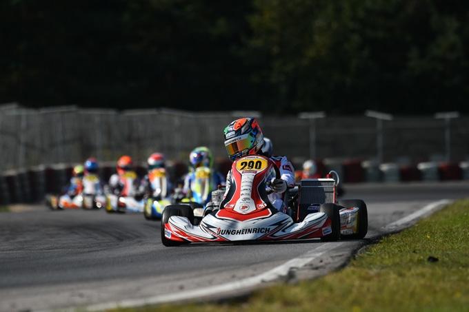RINICELLA PROMOSSO NEI TEST IN VISTA DEL CIK FIA WORLD CHAMPIONSHIP DI PORTIMAO.