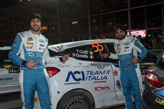 Per Ciuffi-Gonella debutto impegnativo nel Mondiale Rally