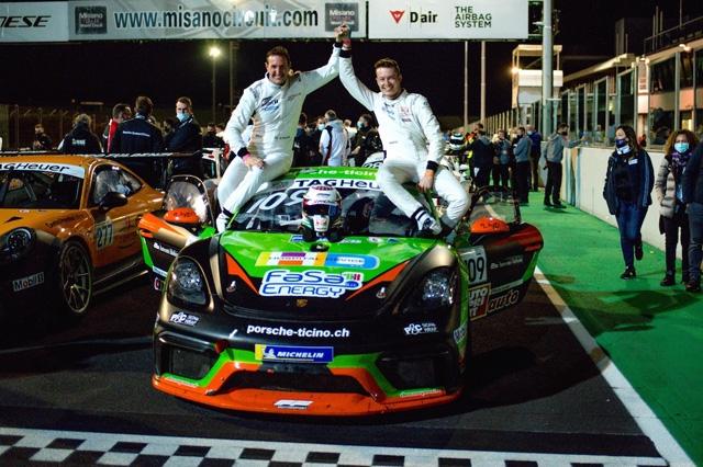 Fenici è il campione GT4 della Porsche Sports Cup Suisse