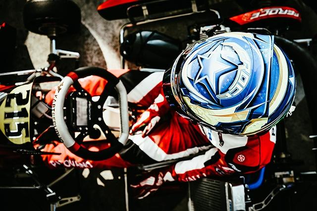 PIROVANO VICE CAMPIONE X30 JUNIOR NELLA IAME SERIES ITALY.