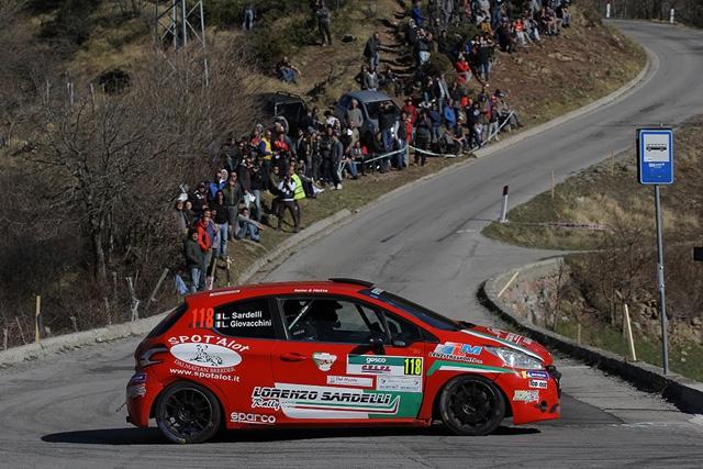 """Lorenzo Sardelli al via del Rallye Elba parte la """"campagna di zona"""""""