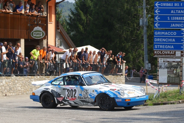 Da Zanche punta in alto al Rallye Elba su Porsche