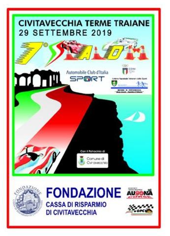 """Slalom """" Civitavecchia Terme Traiane"""", iniziati i preparativi per la settima edizione di questa Manifestazione in Calendario Nazionale per il prossimo 29 Settembre."""
