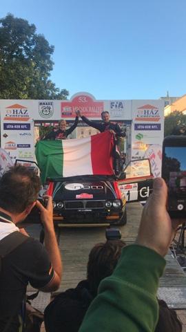 Lucky si riprende l'Europeo Rally Auto Storiche
