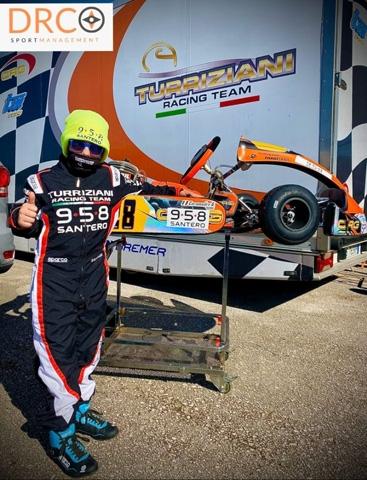 Campionato Aci Sport Club Lazio di Kart: ottimo weekend per Giuseppe Bufetto Caramadre