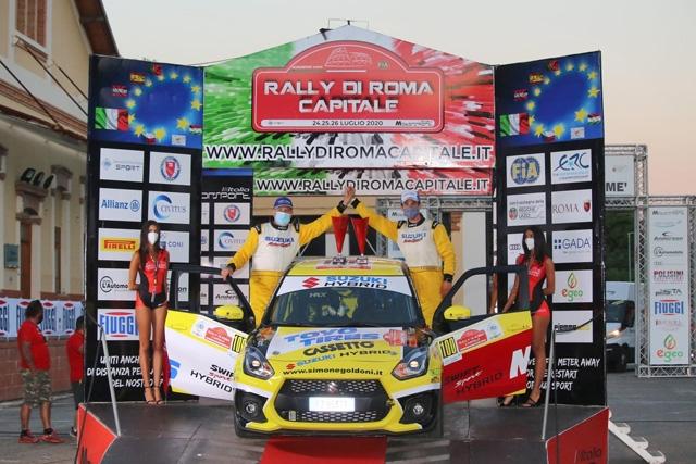 EFFERREMOTORSPORT – Goldoni primeggia in R1 a Roma. A Salsomaggiore 6 equipaggi impegnati.