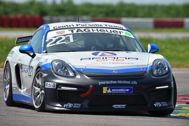 Esordio di Fenici nella Porsche Sports Cup Suisse a Le Castellet