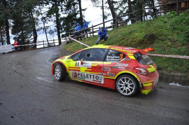 Paolo Andreucci e Anna Andreussi sul podio del 28° Rally Il Ciocchetto