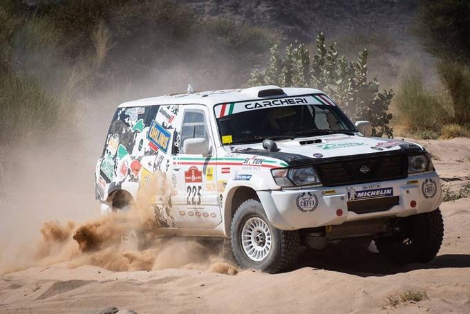 Prosegue alla grande l'avventura della Squadra Corse Angelo Caffi alla Dakar Classic 2021