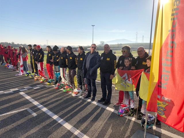 Buoni auspici per la Sicilia del karting