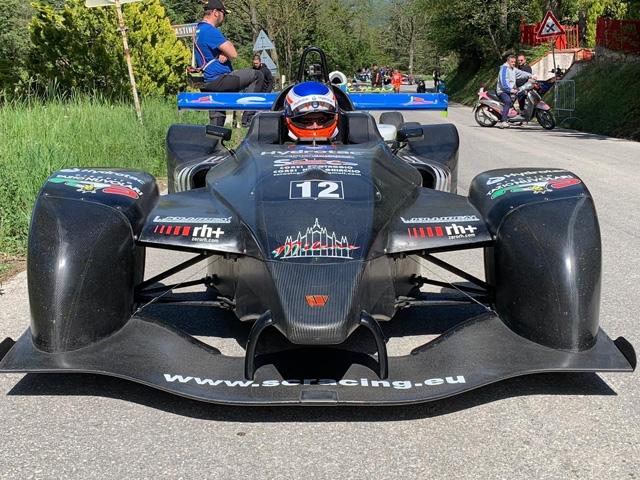 Stefano Crespi torna nel Campionato Italiano Velocità Montagna al 30° Trofeo Scarfiotti