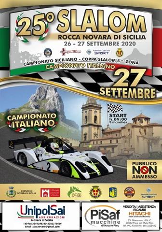 Alti numeri in sicurezza al 25° Slalom Rocca Novara di Sicilia