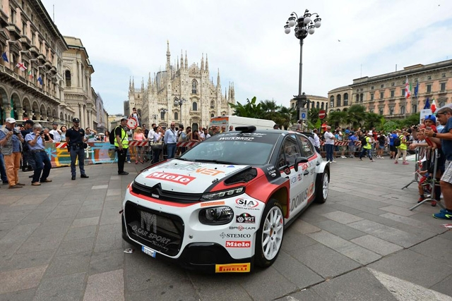 OGLIARI SUPERLATIVO AL MILANO RALLY SHOW