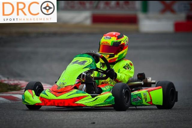 Kart, Trofeo di Primavera 2021: Marco Verde tra i migliori 10 al debutto nella 60 Mini Nazionale